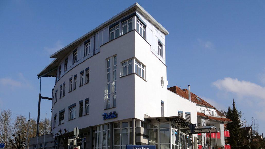 Haus der Berater in Böblingen und Zentrale RW RealWerte GmbH