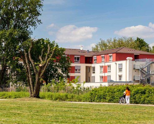 Ansicht Pflegeheim Pflegeimmobilie RW RealWerte