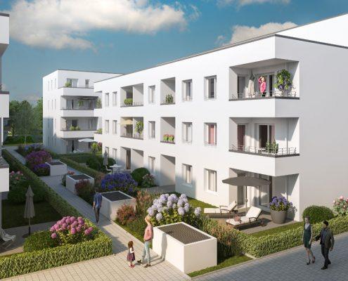 Quartierplatz Lahr Neubau